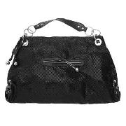 John by John Richmond - Black Super Slinky Chain Mail Bag