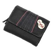 Butterfly by Matthew Williamson - Black with Bright Stitch Purse