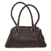 Rocha.John Rocha - Brown Small Woven Tote Bag