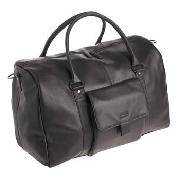 Rocha.John Rocha - Dark Brown Leather Holdall