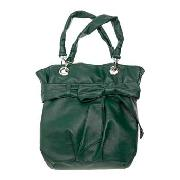 Red Herring - Green Large Bow Tote Bag