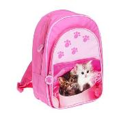 Tigerlily - Pink 'Cute Cats' Rucksack