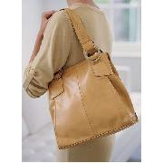 Next - Camel Double Rings Tote Bag