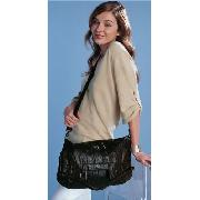 Next - Chocolate Flap Handle Underarm Bag