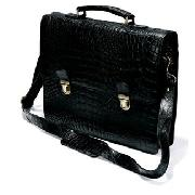 Next - Crocodile Style Leather Briefcase